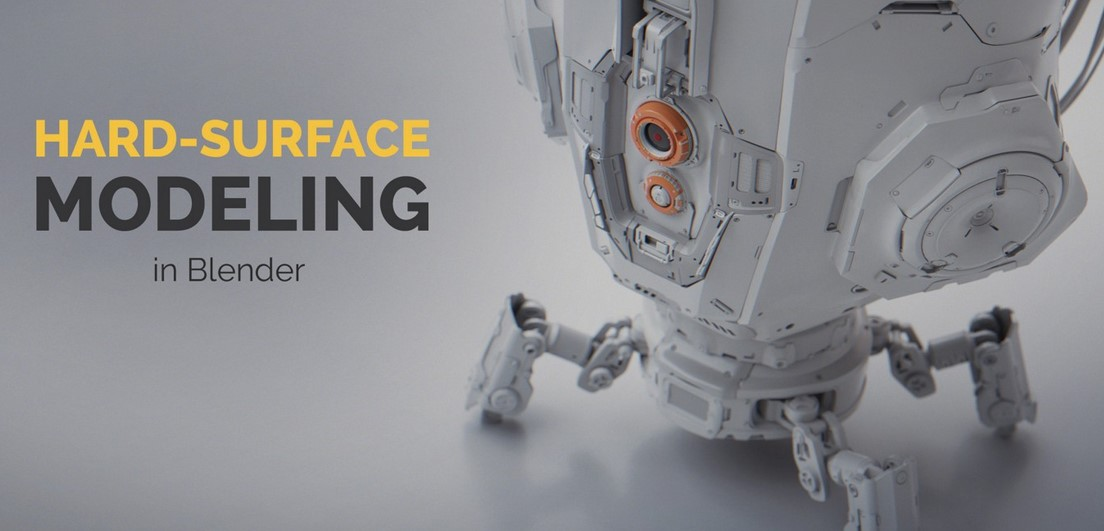 CG Masters - Hard Surface Modeling In Blender (2018)