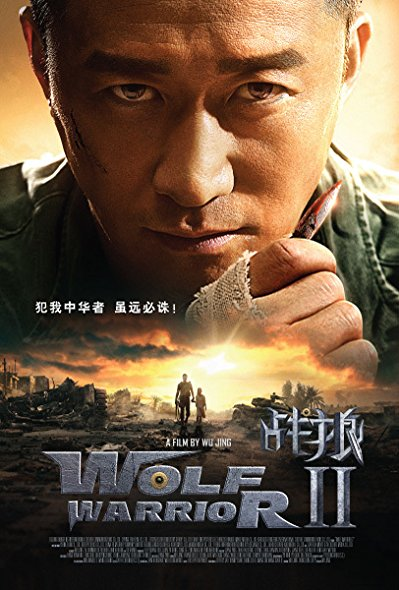 Wolf Warrior 2 2017 Limited 1080P Bluray X264-Usury