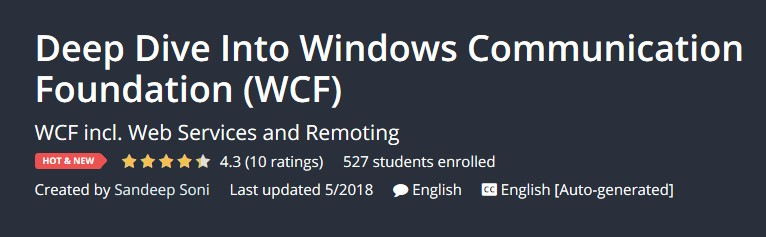Udemy Deep Dive Into Windows Communication Foundation WCF