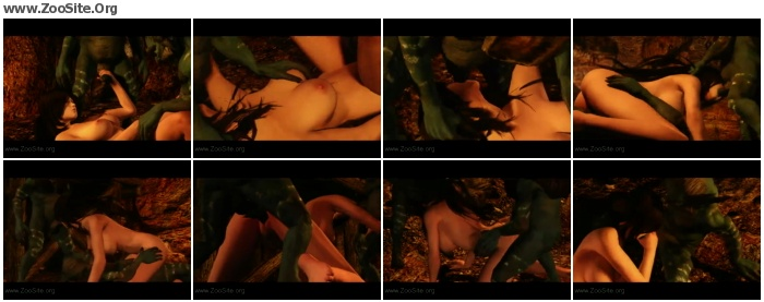 558c35952483664 - Skyrim - Riekling Fetish  Part 2  - Naughty Machinima 1 - Bestiality Porn Animation