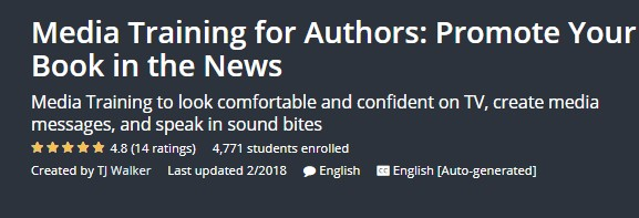 Media Training for Authors: Promote Your Book in the News