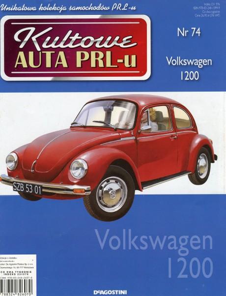 Kultowe Auta PRL-u - Volkswagen 1200 Garbus