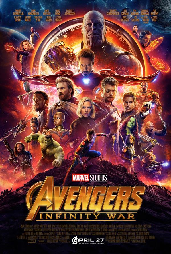 译  名 复仇者联盟3:无限战争/复仇者联盟3:无限之战(港)/复仇者联盟:无限之战(台)/复仇者联盟3:无尽之战/复联3/妇联3(豆友译名)/复仇者联盟3:灭霸传(豆友译名) 片  名 Avengers: Infinity War 年  代 2018 产  地 美国 类  别 动作/科幻/奇幻/冒险 语  言 英语/国语 字  幕 中英双字幕 上映日期 2018-04-23(加州首映)/2018-04-27(美国)/2018-05-11(中国) IMDb评分 8.