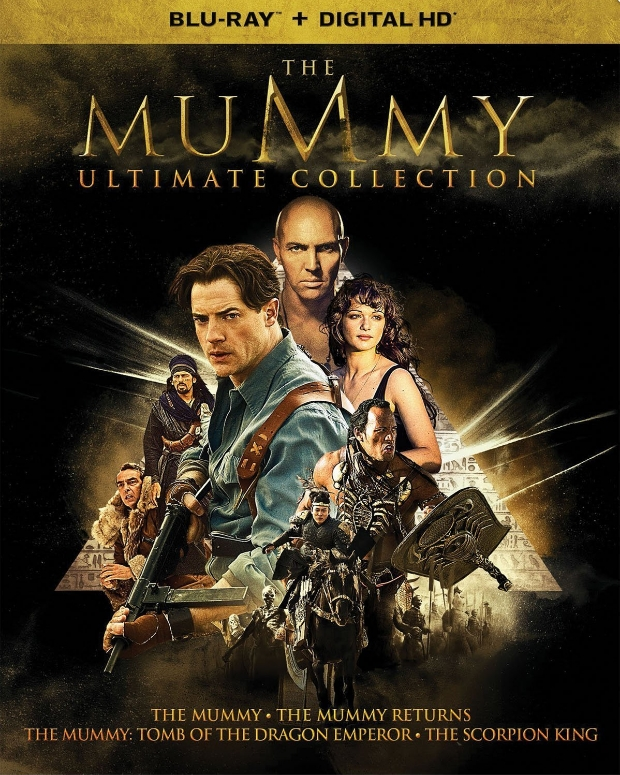 The Mummy 5-Movie Collection 1999-2017 Blu-ray 1080p x264-HighCode