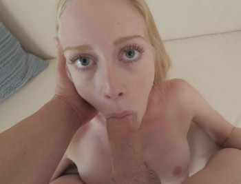Emma Scarletto - Fresh New First Time Teen POV Casting (2018) 1080p