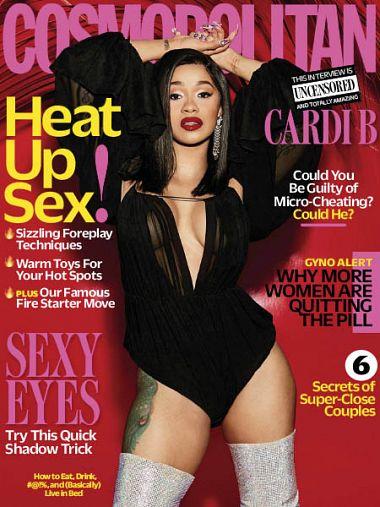 Cosmopolitan USA – April 2018