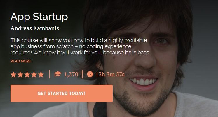 Andreas Kambanis - App Startup