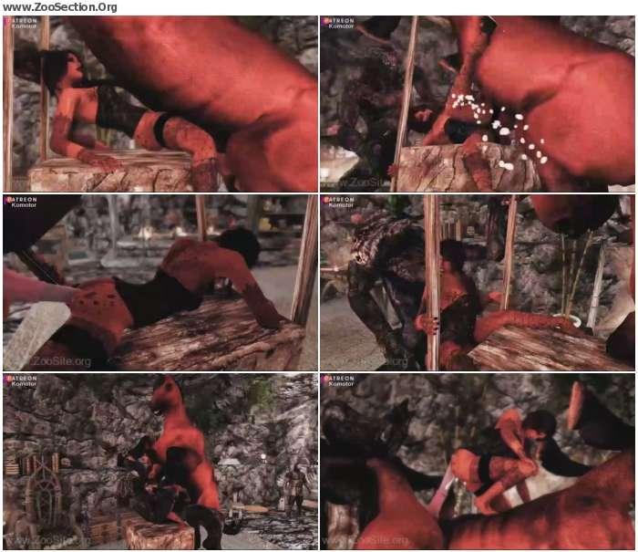 d4b0171074215844 - -Skyrim-KomAnim- The Horse & Troll  10 stages  - Naughty Machinima 2 [Anime / Hentai]