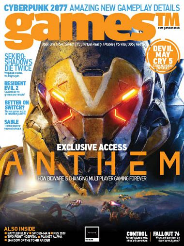 GamesTM – Issue 205 2018
