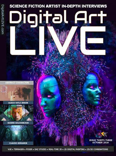 Digital Art Live – October 2018
