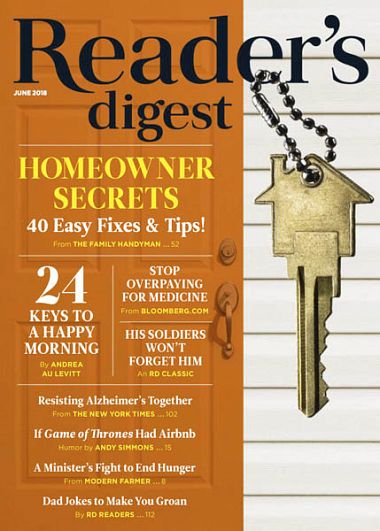 Reader's Digest USA – June 2018