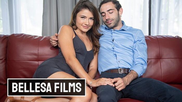 BellesaFilms: Adria Rae she can Finally Jump her old College Friend Jake Adams Starring: Adria Rae