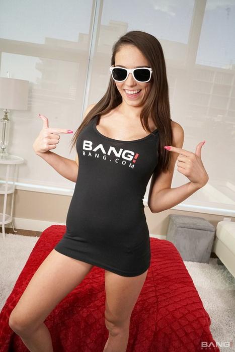 Bang! Real Teens Bang.com: Ashly Anderson Shows Off Her New Tits In Bang Debut Starring: Ashly Anderson