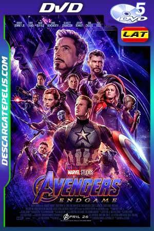 Vengadores. Endgame 2019 DVD5 Latino