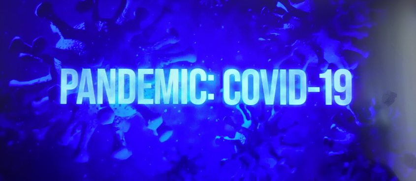 Koronawirus: Czas pandemii / Pandemic: COVID-19 (2020) PL.Discovery-HDTV.x264-GUN