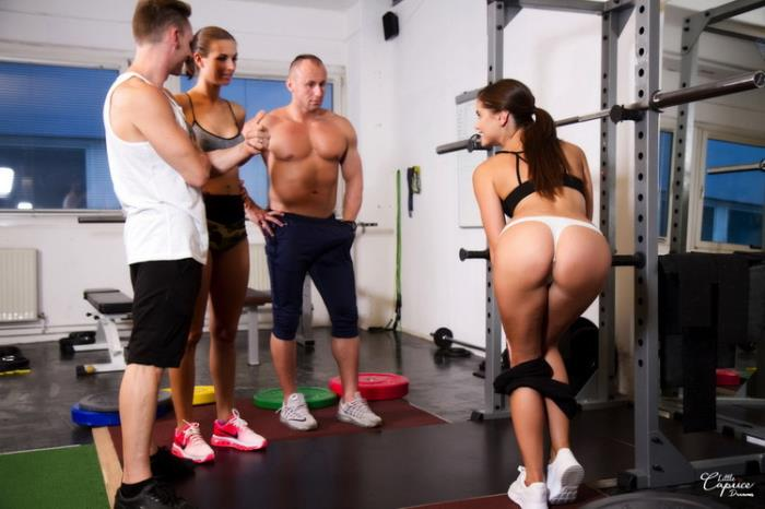 Little Caprice - We Cum To You Part 2 - Gym (2021 LittleCaprice-Dreams.com) [FullHD   1080p  1.38 Gb]