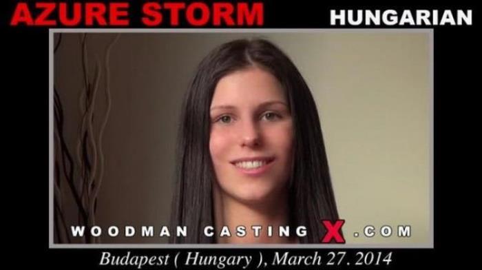 AZURE STORM - Hardcore (2021 WoodmanCastingX.com PierreWoodman.com) [HD   720p  1.94 Gb]