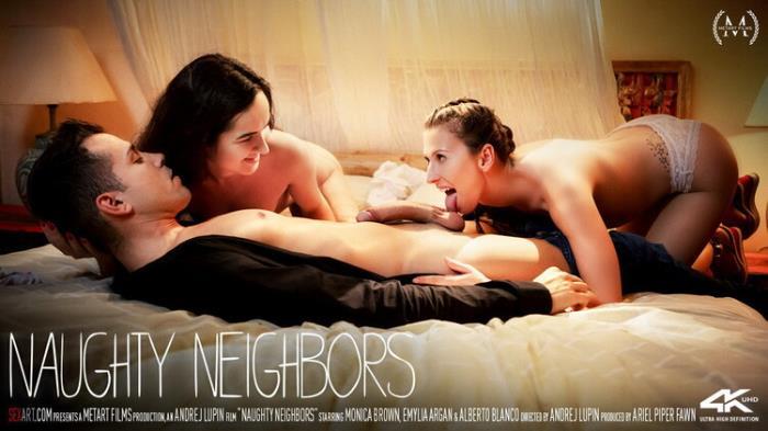 Emylia Argan - Naughty Neighbors (2021 SexArt.com MetArt.com) [FullHD   1080p  1.4 Gb]