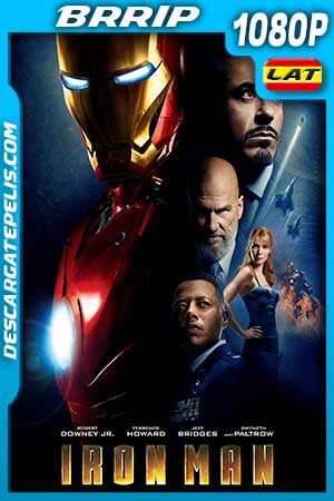Iron man – El hombre de hierro 2008 1080p BRrip Latino – Inglés