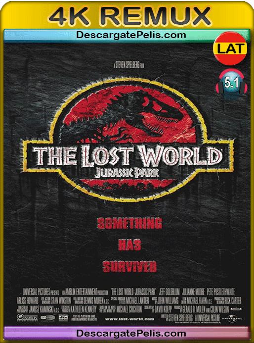 Jurassic park II. The lost world 1997 BD4K Remux Latino – Inglés