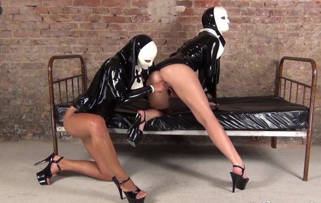NastyRubberGirls: video 0017 Starring: Unknown