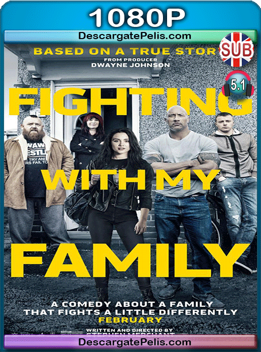 Fighting with my family 2019 1080p WEB-DL Subtitulado