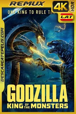 Godzilla. El rey de los monstruos 2019 BD4K Remux Latino – Inglés