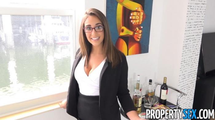 PropertySex: Captain of Big Boat Bangs Hot Real Estate Agent Starring: Layla London