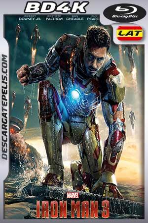 Iron Man 3 2013 BD4K Latino