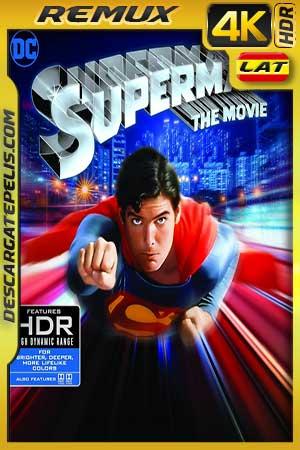 Superman. La película 1978 BD4K Remux Latino – Inglés
