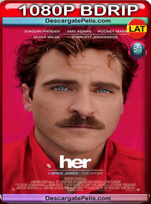 Her 2013 1080p BDrip Latino – Inglés