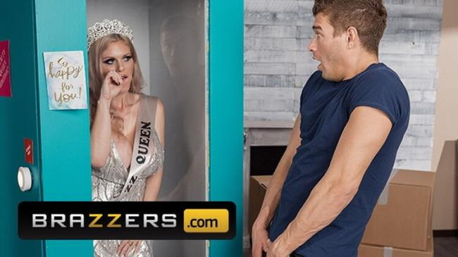 Brazzers: Xander Gets a Super Present, a Real Doll Casca Akashova in a Box to get Fuck with Starring: Casca Akashova