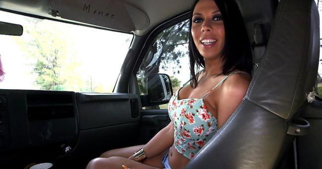 Rachel Starr - Threesome On The BangBus With A Random Girl And A Pornstar (2020 BangBus.com BangBros.com) [HD   720p  925.18 Mb]