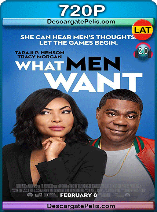 What men want 2019 720p WEB-DL Latino – Inglés