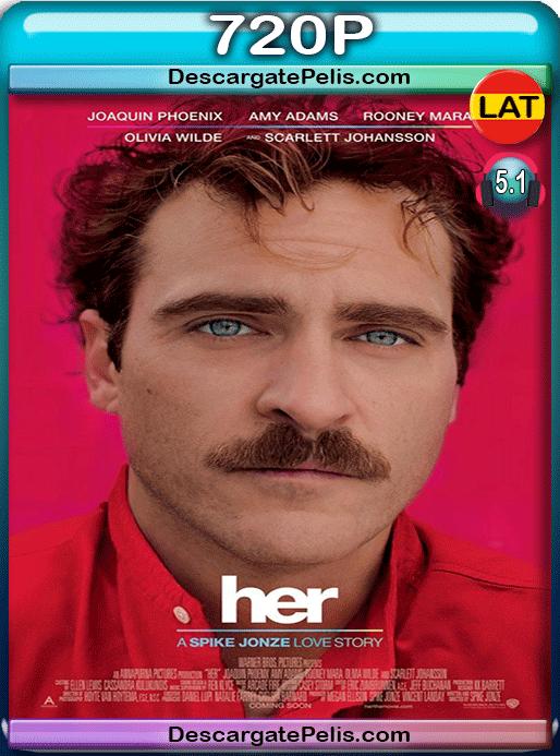 Her 2013 720p BRrip Latino – Inglés