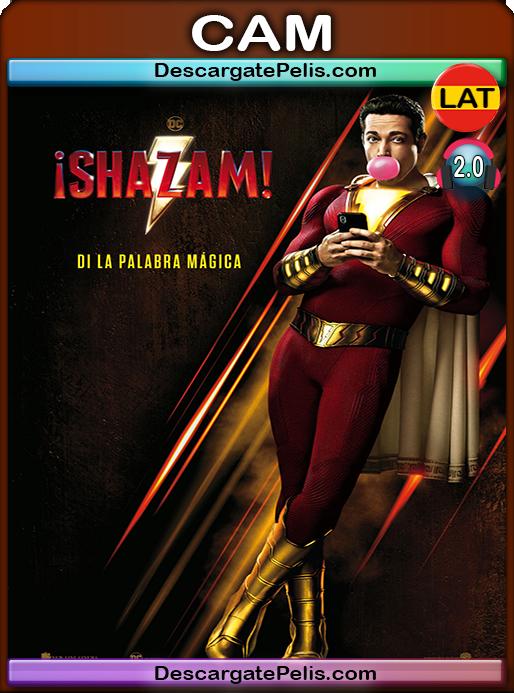 Shazam! 2019 [720p HDCAM] [Latino-Inglés]
