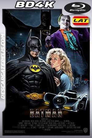Batman 1989 BD4K Latino