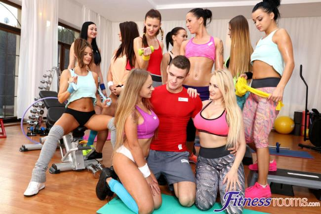 Angel Wicky - Busty gym babes big cock threesome (2020 FitnessRooms.com) [FullHD   1080p  1.42 Gb]