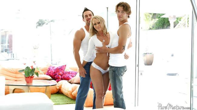 Simone - Pure Threesome [FullHD 1080p 1.82 Gb] PureMature.com