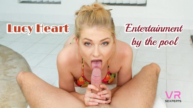 Lucy Heart - Entertainment By The Pool (2021 VRSexperts) [2K UHD   1920p  2.13 Gb]