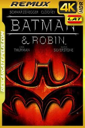 Batman and Robin 1997 BD4K Remux Latino – Inglés