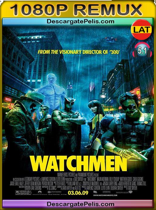 Watchmen 2009 [BDRemux] [Latino-Inglés]