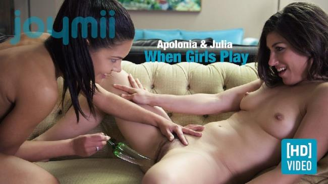 Apolonia - When Girls Play (2021 JoyMii.com) [FullHD   1080p  793.85 Mb]