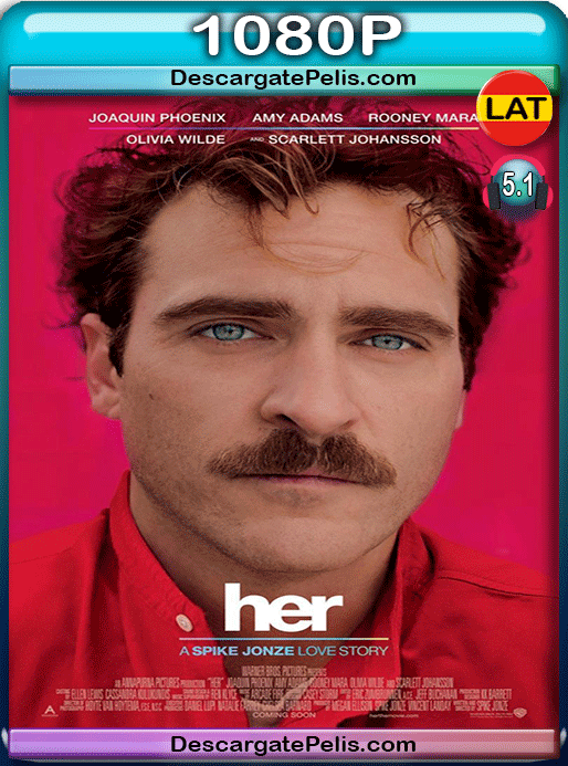 Her 2013 1080p BRrip Latino – Inglés