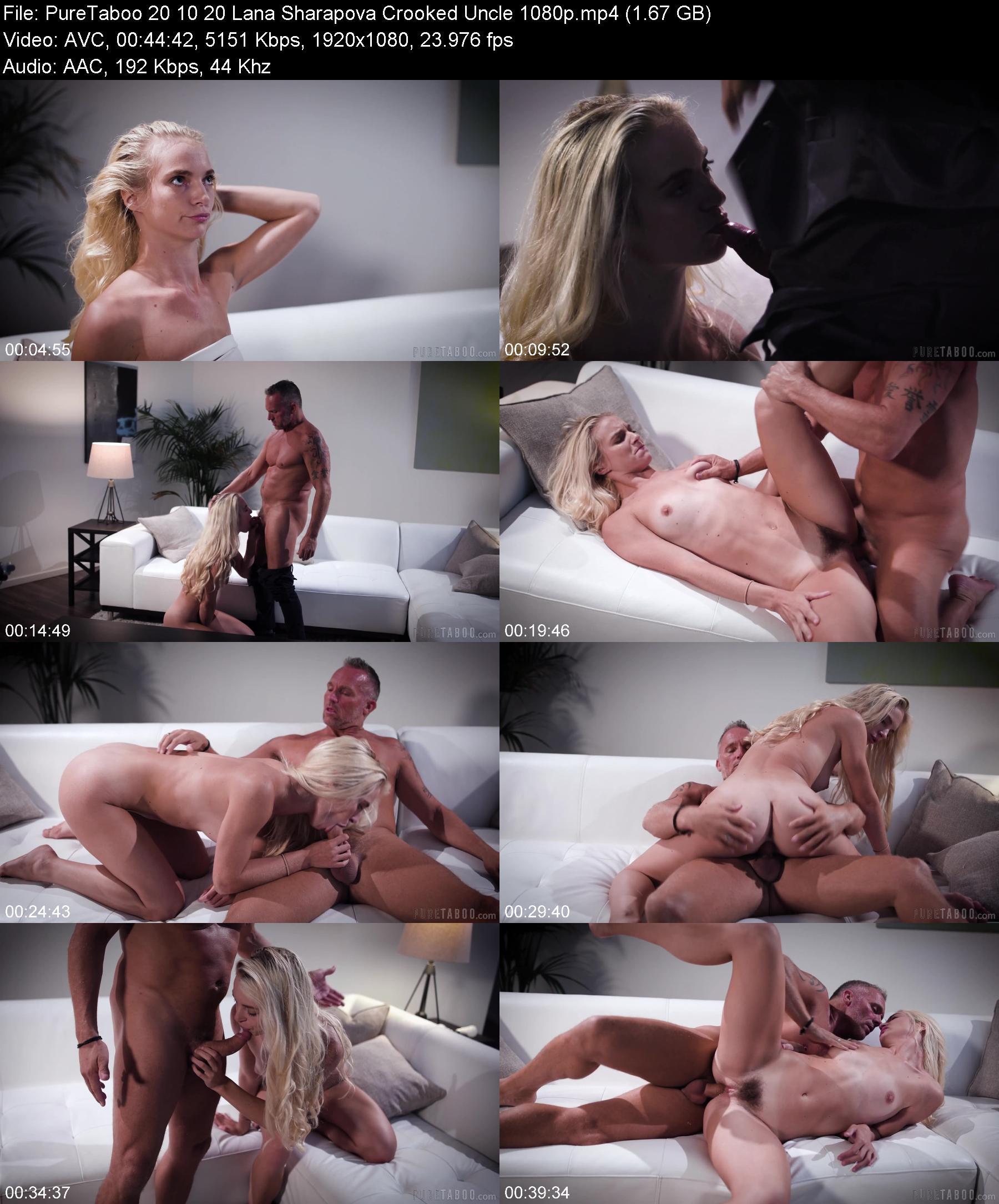 PureTaboo 20 10 20 Lana Sharapova Crooked Uncle XXX 1080p MP4-XXX
