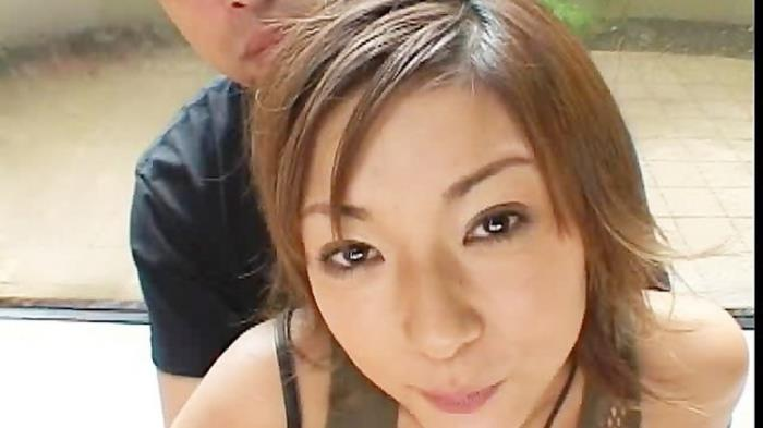 JapaneseBukkakeOrgy: Cute Cowgirl getting Throbbed Missionary Starring: Unknown