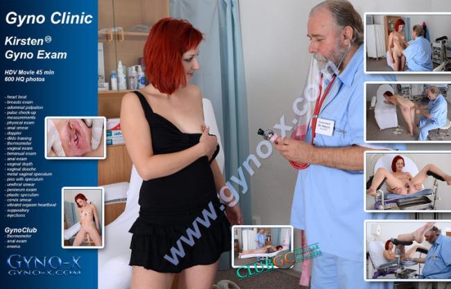 Gyno-X.com: Kirsten (20 years girl gyno exam) Starring: Kirsten