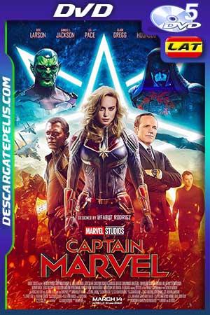 Captain Marvel 2019 DVD5 Latino