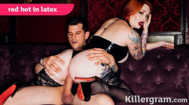 Killergram.com: Red Hot In Latex Starring: Zara Durose