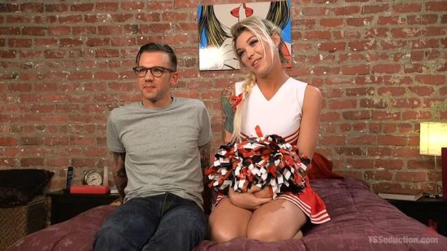 TSSeduction.com Kink.com: Slutty Cheerleader Bribes Tutor With An Athletic Assfucking Starring: Aubrey Kate